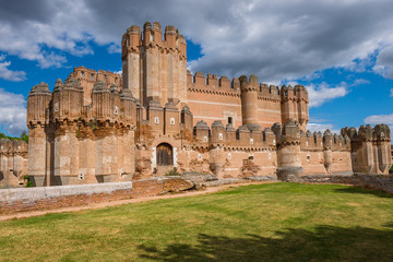 Castillo de Coca, Segovia, Castilla y León (España)