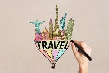 Travel sketch