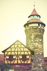Wall Mural - Tower in Nuremberg Castle