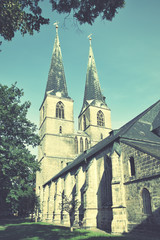 Wall Mural - Church in Quedlinburg