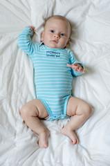 Baby in bodysuit