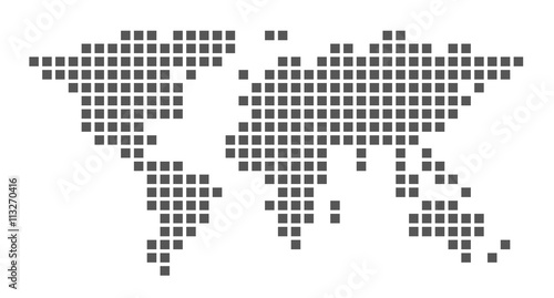 World map made of squares stock image and royalty free vector files world map made of squares gumiabroncs Image collections