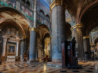 Interior of the Cremona Cathedral