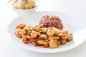 Stir Fried Chicken with Cashew Nuts