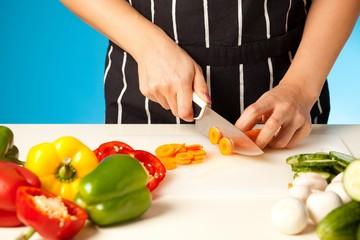 Chopping Vegetables