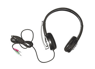 Sketch of new headset with microphone, home electronics
