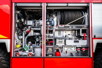 Feuerwehr Fahrzeug Geräte