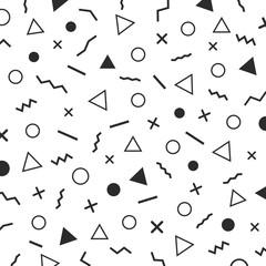 minimalist memphis design background