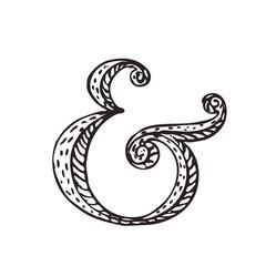 Ampersand for decoration
