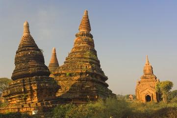 Raya-nga-zu Group, Bagan (Pagan), Myanmar (Burma), Asia