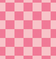 Pink plaid pattern