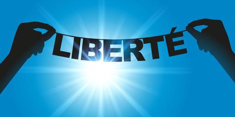 Liberté - libre - Mot