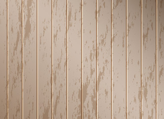 Brown wood texture background, vector illustration