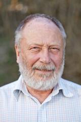 Portrait of a retired senior man