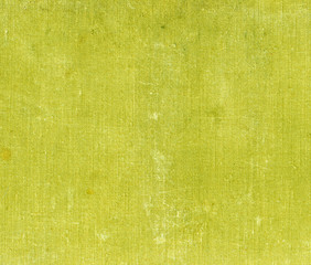 Weathered yellow canvas texture.