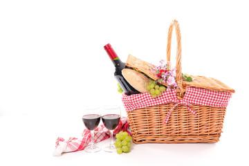 Poster Picnic picnic basket