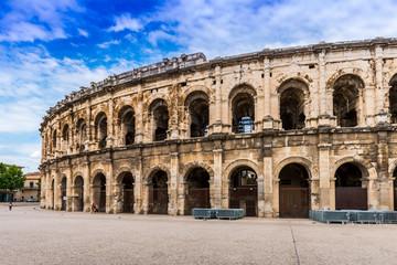 Arènes de Nîmes en Languedoc, Occitanie