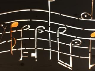 note musicali nota musicale nota illuminata