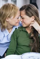 Lesbian lovecouple