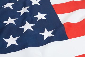 Ruffled national flags - United States