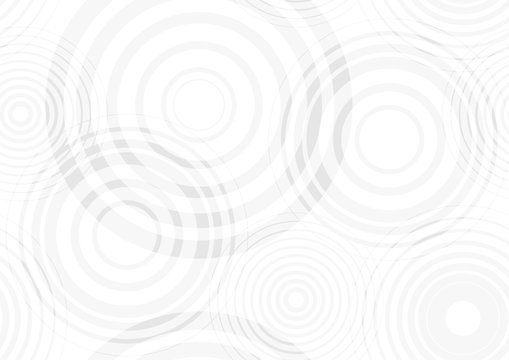 Water drop circles background - Abstract Illustration, Vector