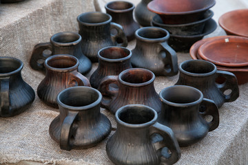 pottery handmade. ceramic jugs for sale