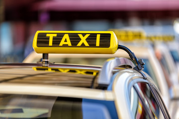 Taxi Fototapete