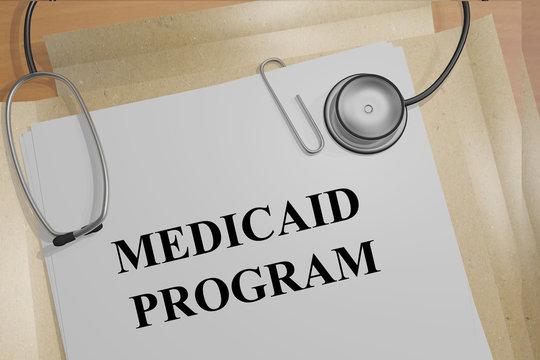 Medicaid Program medical concept