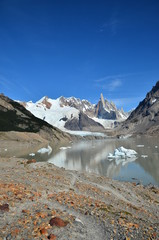 Cerro Torre in the mirror