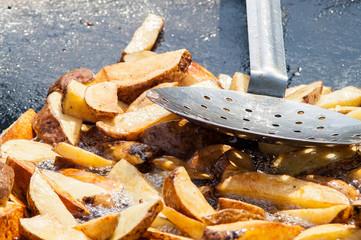 fried potatoes Festival