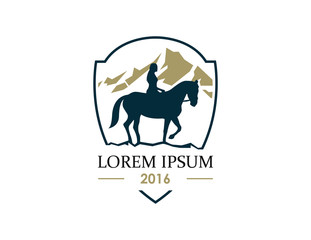 Icon for horse breeders and riding schools and equestrian team