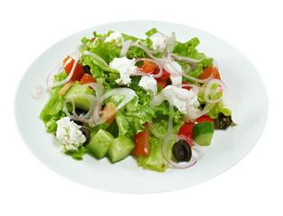 Italian salad Mediterranean-style