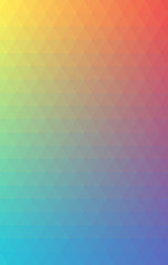 Background Triangle Vector Gradient Rainbow