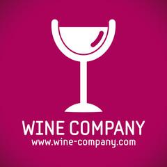 logo bar à vin alcool vin rouge