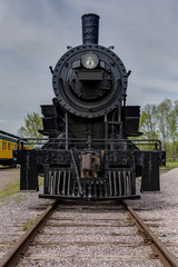 Railroad Steam Locomotive