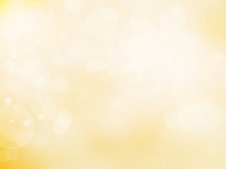 Abstract bokeh background color gold