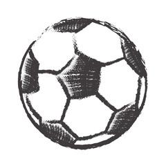 football ball isolated illustration