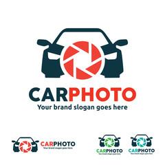 Car Camera Logo for Car Photo and Video Business
