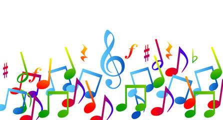 prove colorinote musicali, musica, pentagramma