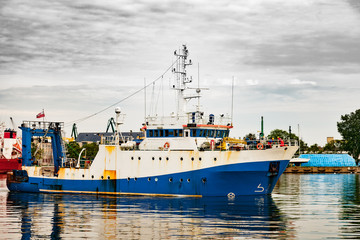 Trawler a fishing boat used for trawling.