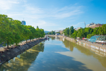 Danube canal through Vienna