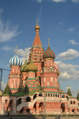 St. Basil's Cathedral, Moscow.