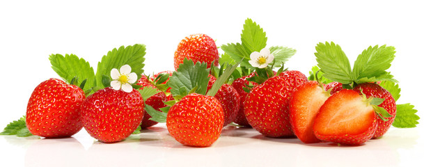 Erdbeeren - Panorama