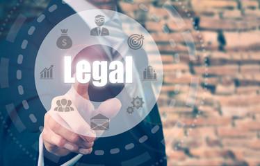 Business development Legal Concept