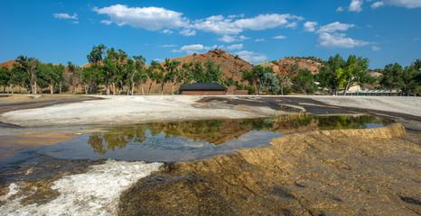 Thermopolis hot spring, Wyoming
