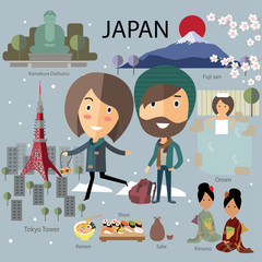 tourist travel japan