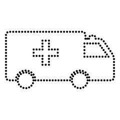 Ambulance sign illustration