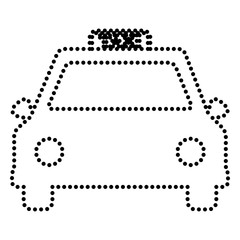 Taxi sign illustration