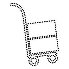 Hand truck sign