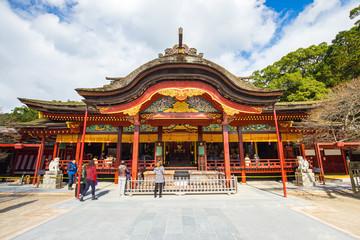 The Dazaifu shrine in Fukuoka, Japan Wall mural